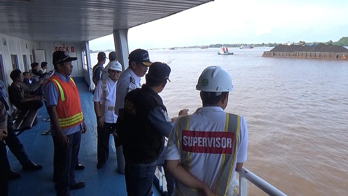 Direktur KPLP Pantau Kelayakan Angkutan Laut Di Pelabuhan Trisakti