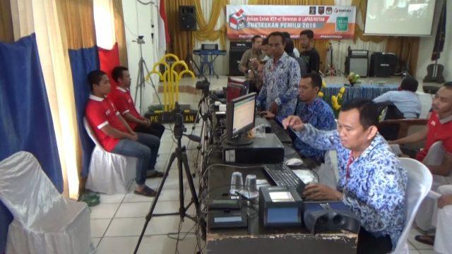 Disdukcapil Banjarmasin Lakukan Perekaman e-KTP Di Lapas Teluk Dalam