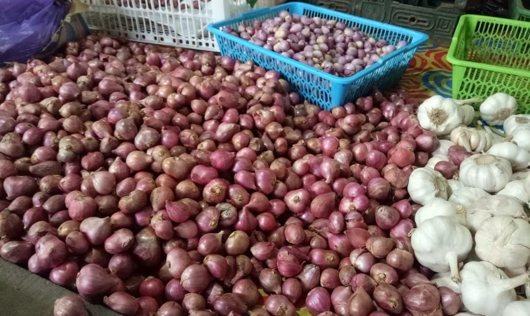 Harga bawang merah Melonjak Naik
