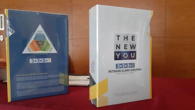 Zulfikar Alimuddin Launching Buku The New You, Petakan Ulang Hidupmu dan Jadilah Hebat.