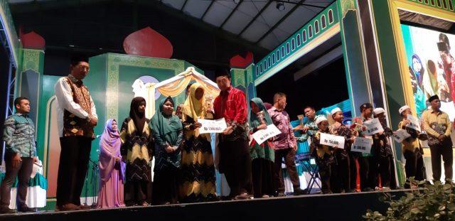 Banjarmasin Tengah Juara Umum MTQ Nasional 51 Kota Banjarmasin