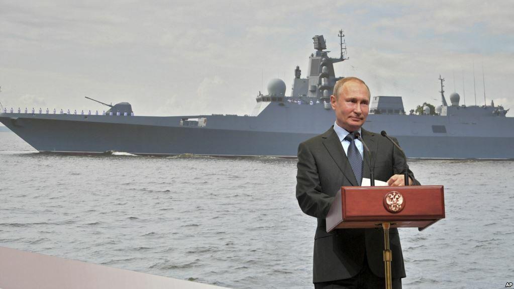 Kapal Selam Rusia Baru akan Bawa Drone Nuklir