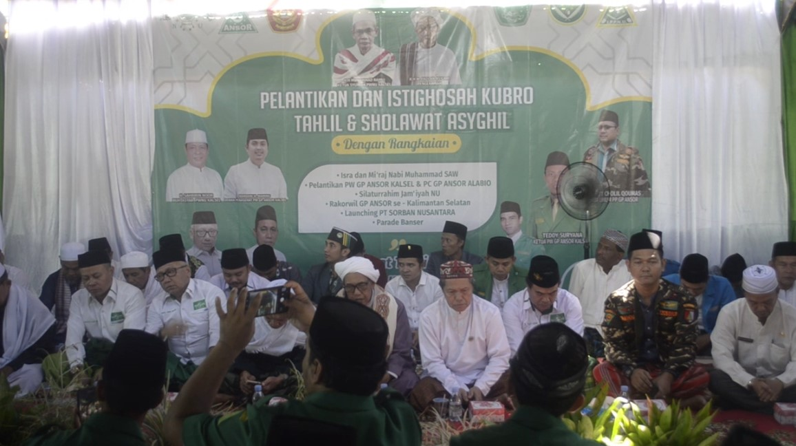 GP Ansor Kalsel Deklarasi Gerakan Rabu Putih