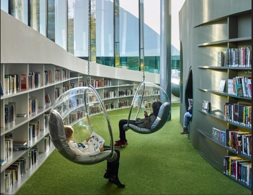 Perpustakaan Juga Bisa Modern