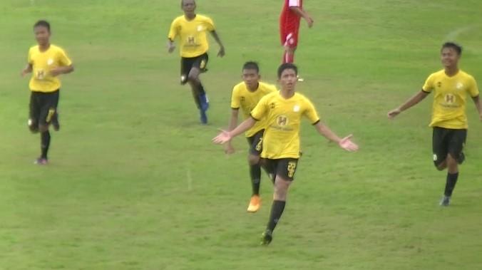 Barito Putera U-16 Hanya Raih Satu Kemenangan Kontra Arema U-16