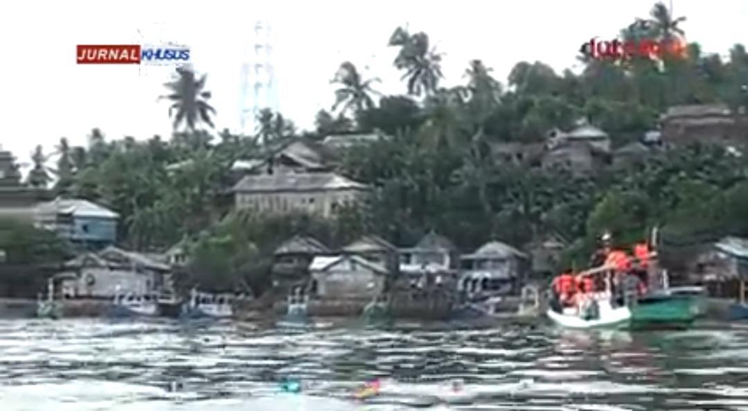 Longsor di Pulau Matasiri, 2 Warga Belum ditemukan