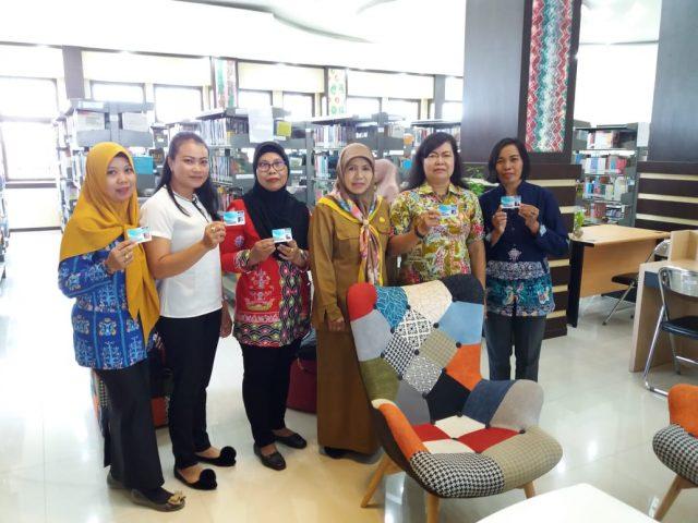 Belajar Minat Baca, DPRD Kotabaru Sambangi Dispersip Kalsel