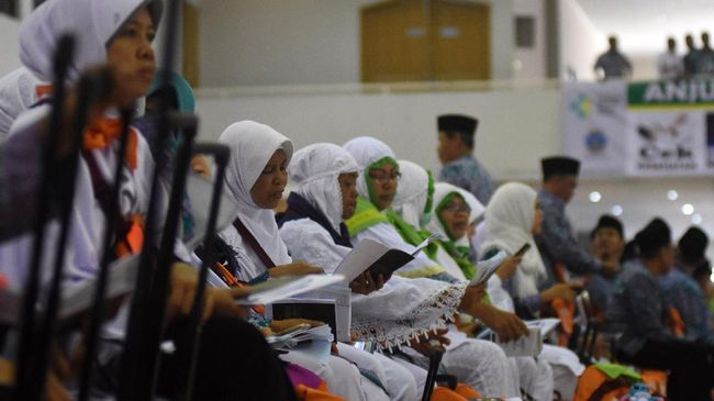 Ilustrasi jemaah haji. (ANTARA FOTO/Indrianto Eko Suwarso).