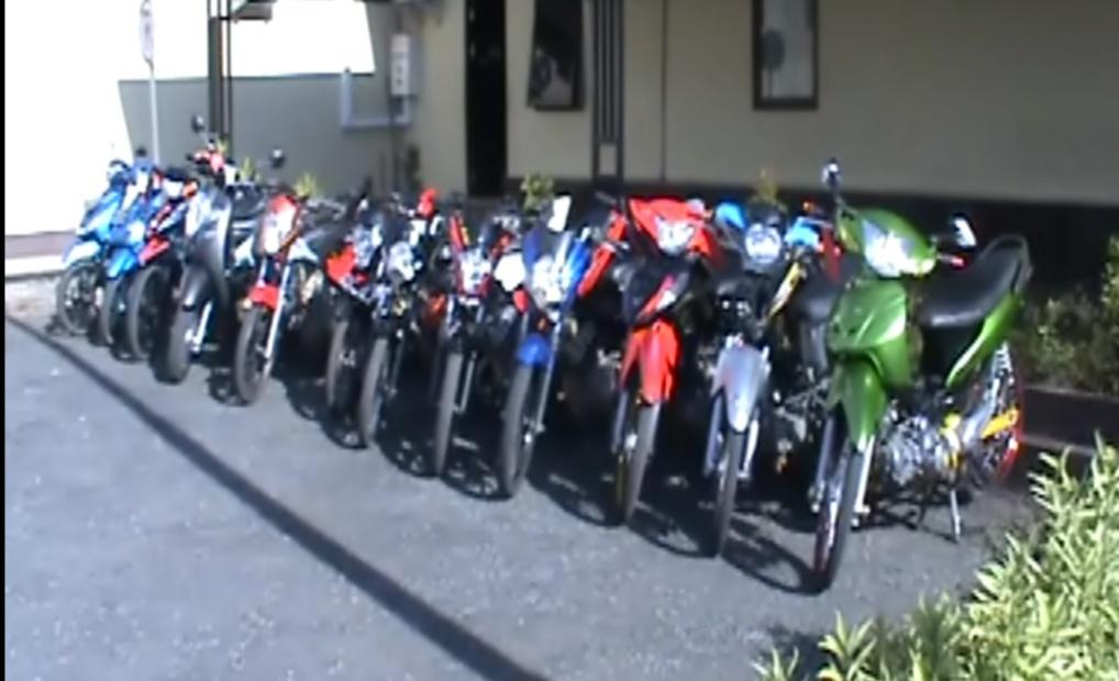 58 Motor Barbuk Balapan Liar di Amankan Selama Ramadhan