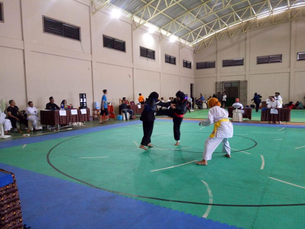 33 Perguruan Ikuti Kejuaraan Daerah Pencak Silat Banjarmasin