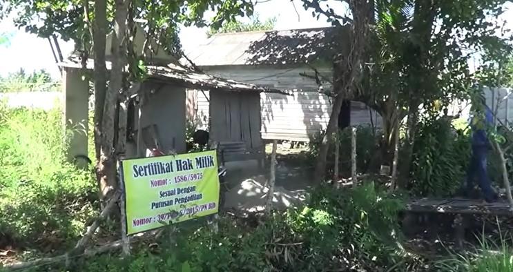 Pemilik Tanah di Jalan Sukamaju Somasi Penghuni Lahan
