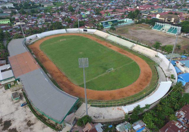 Dispora Kalsel Kembali Lelang Ulang Proyek Renovasi Stadion 17 Mei