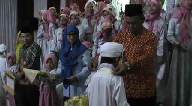 30 Santri TK - TPA Da'watul Khair Khatam Al-Quran