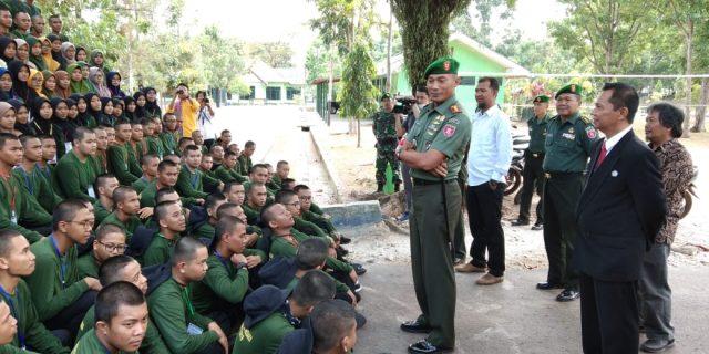 1086 Mahasiswa Baru Politeknik Negeri Banjarmasin Ikuti Pelatihan Bela Negara