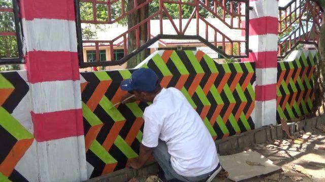 Jelang Hari Proklamasi, Taman Satwa Jahri Saleh Dihiasi Lukisan 3D