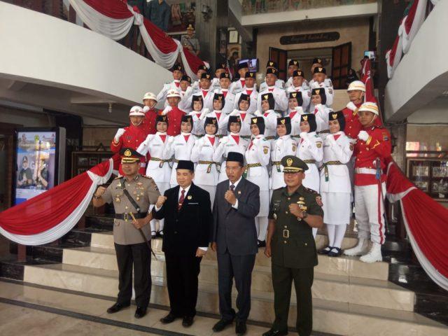 Pengukuhan Paskibraka Pemko Banjarmasin, Walikota Kukuhkan 28 Paskibraka