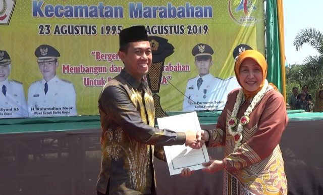 Hadiah Hari Jadi, Bupati Bakal Sulap Wajah Kecamatan Marabahan