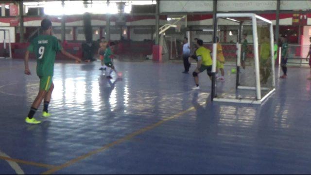 The Boom Pontianak Tiba Lebih Awal Untuk Adaptasi Lapangan Futsal