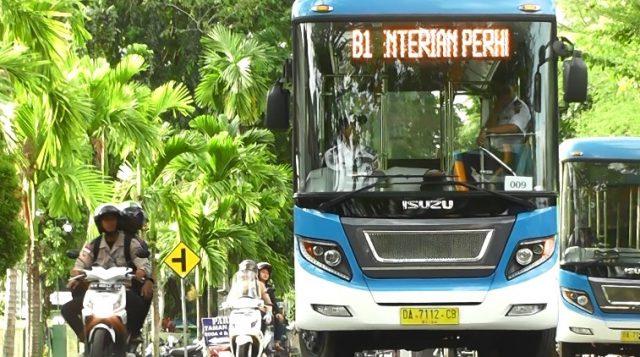Jam Operasional Bus BRT Banjarbakula Berkurang