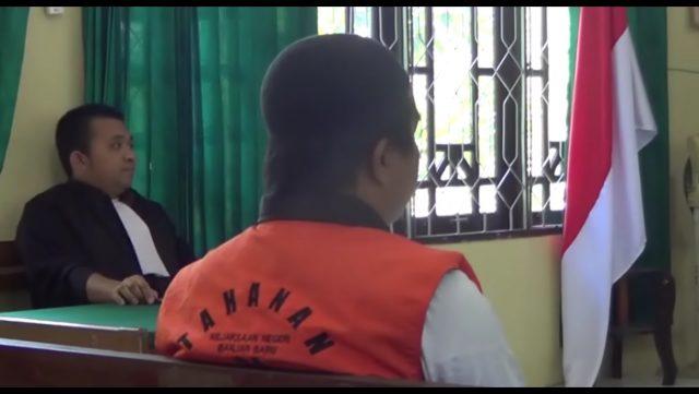 Culik & Cabuli Anak di Bawah Umur, Briptu Andre Divonis 15 Tahun
