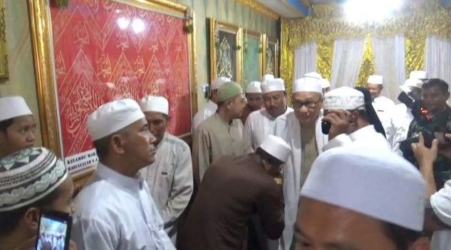 Ratusan Jemaah Kota Banjarmasin Hadiri Haul Syekh Samman Al Madani