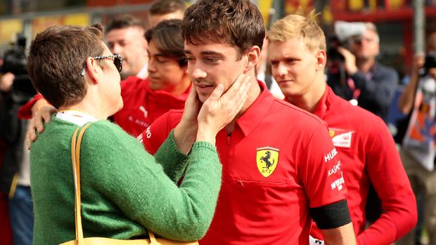 Menang F1 GP Belgia, Leclerc Berduka atas Kematian Hubert