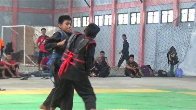 Ratusan Pesilat Pelajar Ramaikan Kejuaraan IPSI se-Kabupaten Tapin