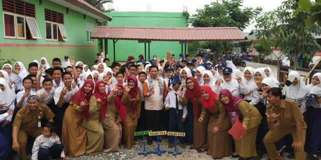 SMPN 35 Banjarmasin Dicanangkan Sebagai Sekolah Siaga Kependudukan