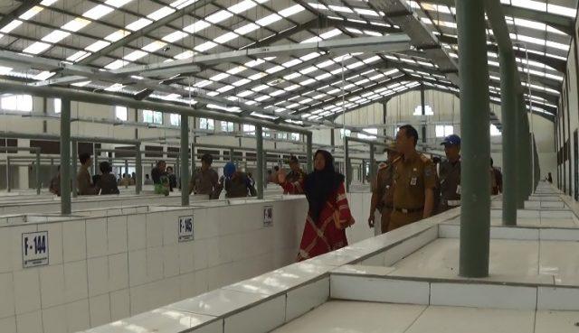 Pedagang Pasar Subuh Kandangan Mulai Kapling Lokasi di Pasar Baru