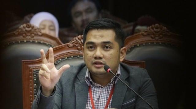 ketua pemenangan paslon BirinMu M. Rifqinizamy Karsayuda
