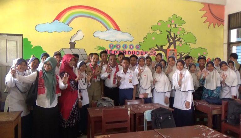 BKKBN Dukung SMPN 4 Banjarmasin Jadi Sekolah Siaga Kependudukan