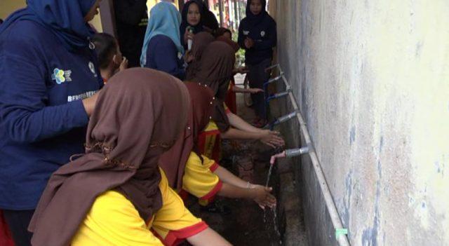 Puskesmas Tapin Utara Ajarkan Budaya Cuci Tangan Dengan Sabun