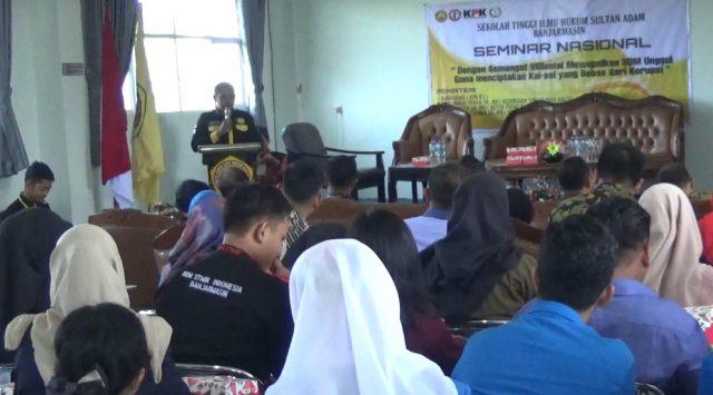 KPK Dorong Mahasiswa Anti Korupsi Melalui Tri Dharma Perguruan Tinggi