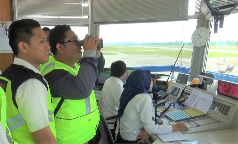 Airnav Indonesia Bangun Tower ATC Baru di Bandara Syamsudin Noor Banjarbaru