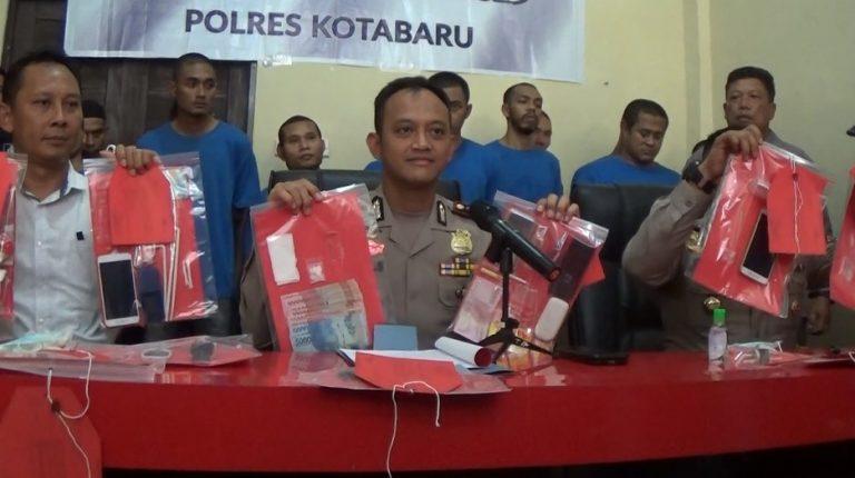 Dari 4 TO, Polres Kotabaru Ungkap 12 Kasus Narkoba