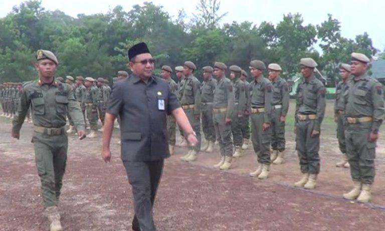 97 Satpol PP Banjar Ditempa Bina Mental di Rindam