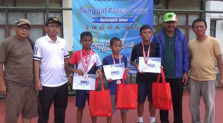 Iqbal Juara Tenis Junior Kelompok 12 Tahun