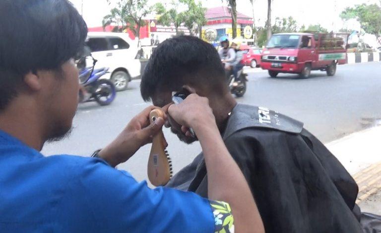 tukang cukur rambut odgj