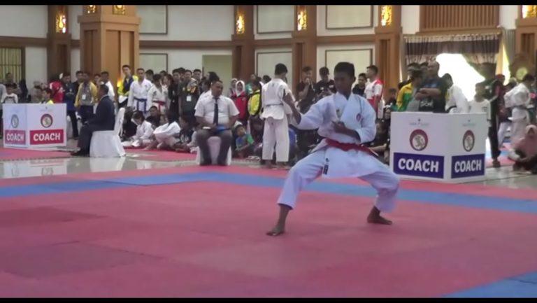 500 Karateka Ikuti Open Turnamen Paman Birin Cup 2019