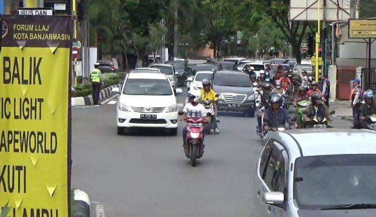 kemacetan di U-trun baru