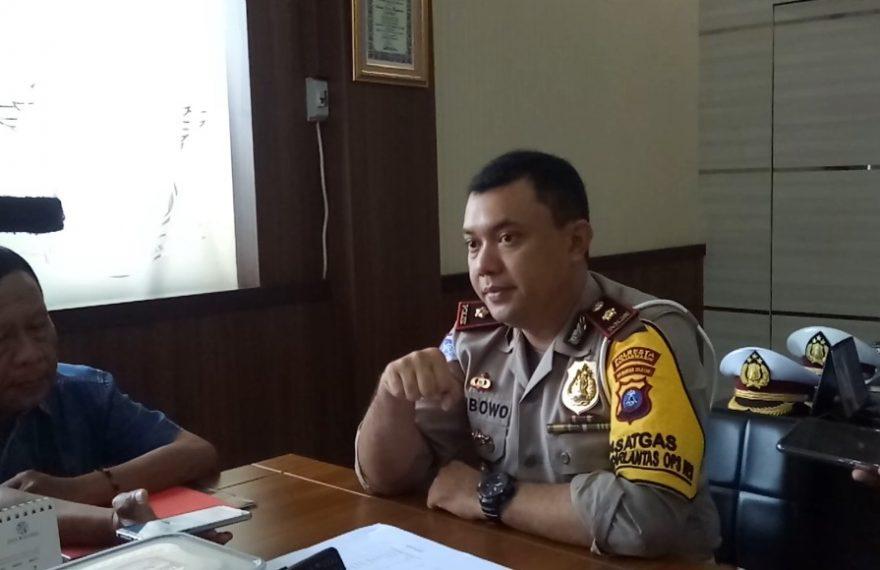Kompol Wibowo, kasat lantas Polresta Banjarmasin