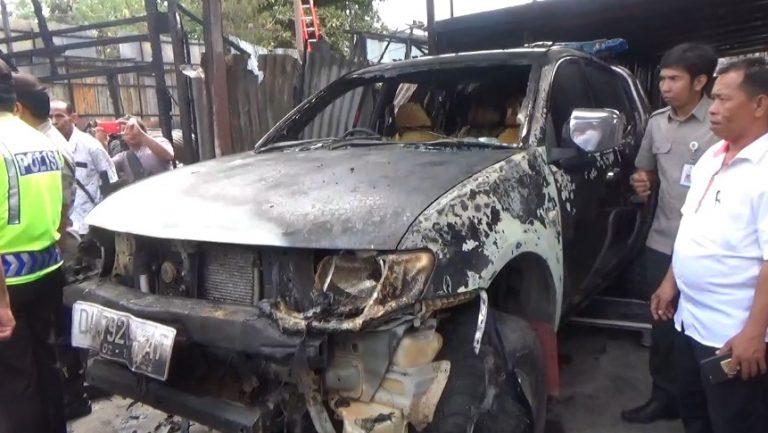 mobil kebakaran pekauman