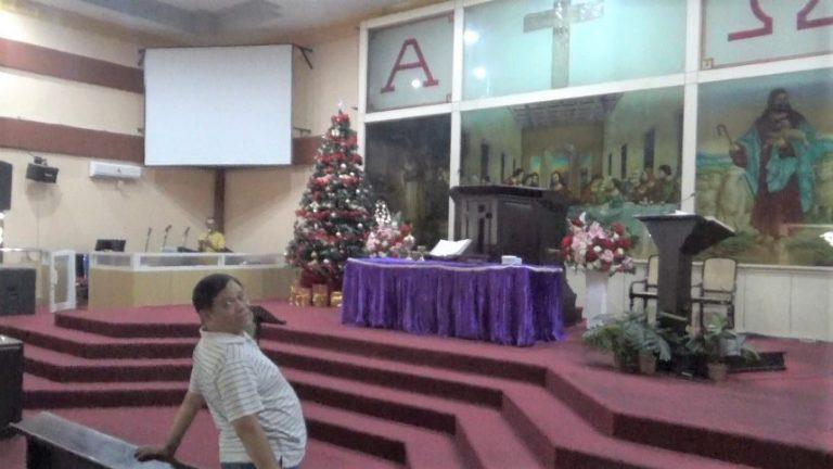 persiapan gereja Eppata