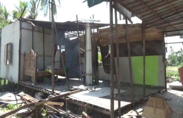 rumah rusak terdampak puting beliung