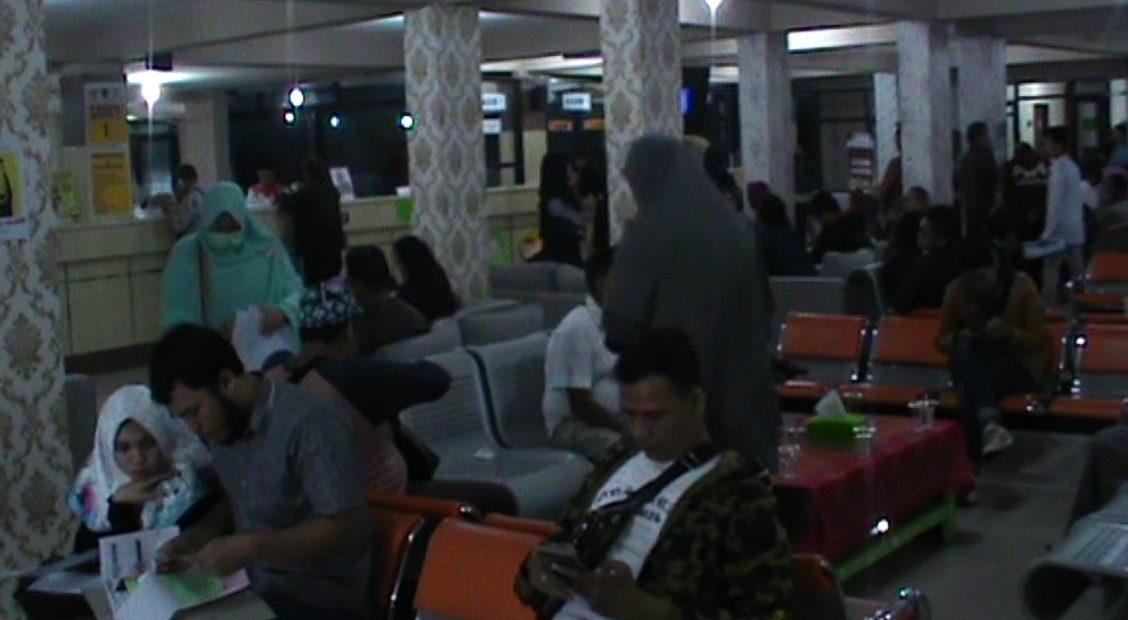 ruang pembayaran pajak kendaraan bermotor Samsat I Banjarmasin