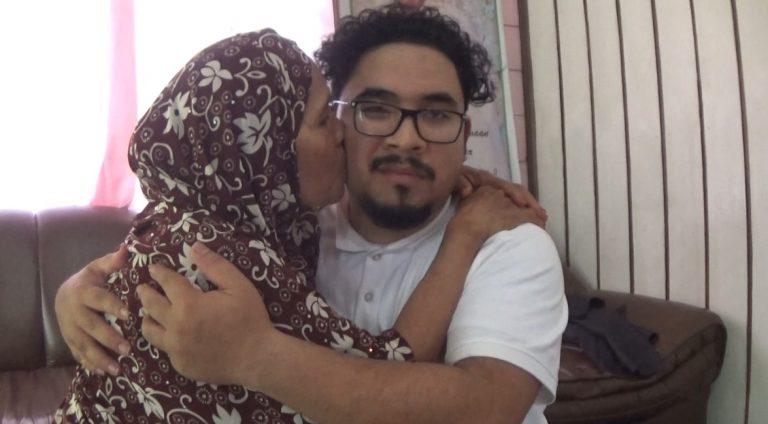 30 Tahun Terpisah, Warga Arab Keturunan Indonesia Bertemu Ibu Kandungnya
