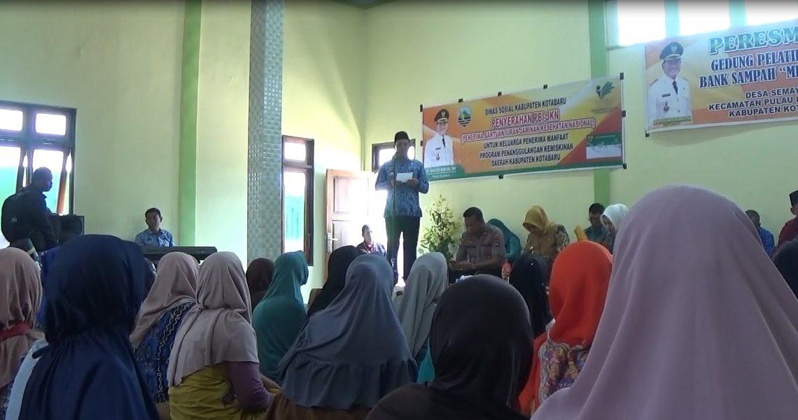 71 Ribu Warga Kotabaru Masuk PBI BPJS Kesehatan