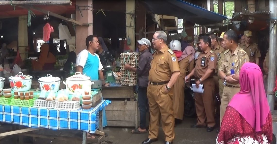 Bupati HSS Pantau Harga & Ketersediaan Bahan Pokok