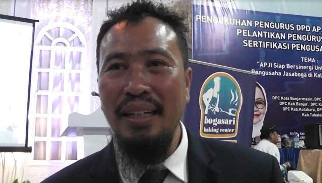 H. Aftahuddin Ketua DPD APJI Kalsel