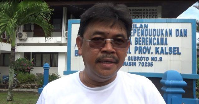H. M. Muslim Kepala Dinas Kesehatan Kalsel